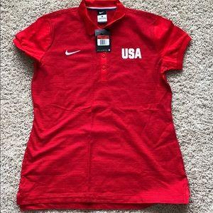 Nike USA Polo - New